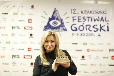 KFG 2014, Martyna Wojciechowska z Grand Prix KFG 2014 (fot. Wojciech Lembryk)