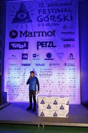 KFG 2014, Piotr Turkot wita uczestników festiwalu (fot. Wojciech Lembryk)