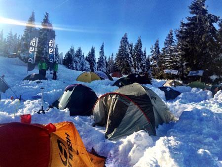 Obozowisko (fot. Wintercamp)