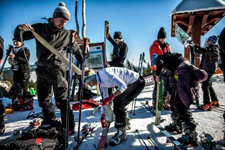 Szkolenia skitourowe (fot. Wintercamp)
