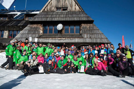 Uczestnicy WinterCamp 2015 (fot. WinterCamp)