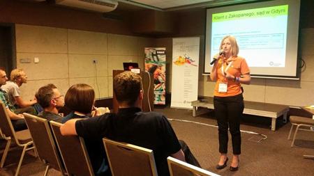 Anna Rak z firmy Trusted Shops (fot. ISPO)