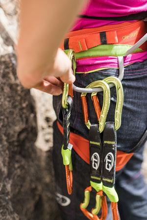 Ekspresy i karabinki Climbing Technology Nimble Evo (fot. SNAP Outdoor)
