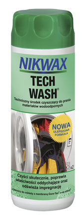 Nikwax podwaja skuteczność Tech Wash® i oszczędza energię