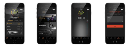 Petzl, Aplikacja REACTIK +