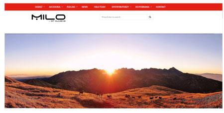 Nowy serwis internetowy marki Milo