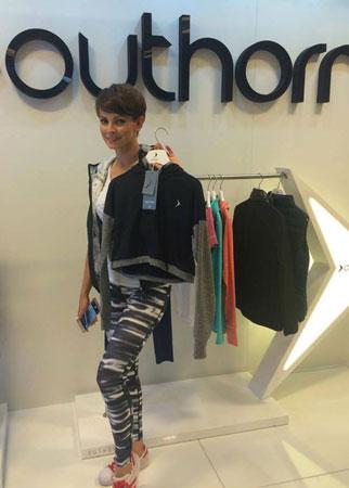 Dorota Gardias ambasadorką marki Outhorn (fot. 4outdoor Biznes)