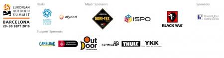 European Outdoor Summit 2016, sponsorzy