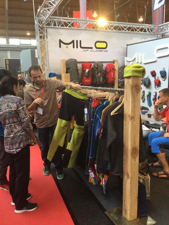 OutDoor 2016: stoisko marki Milo (fot. 4outdoor)