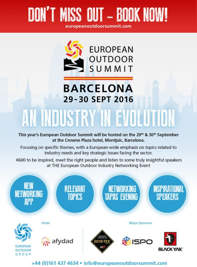 European Outdoor Forum, Barcelona 2016