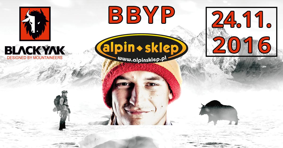 Bielecki Black Yak Presentation, czyli marka Black Yak i Adam Bielecki w sklepie Alpin Sklep