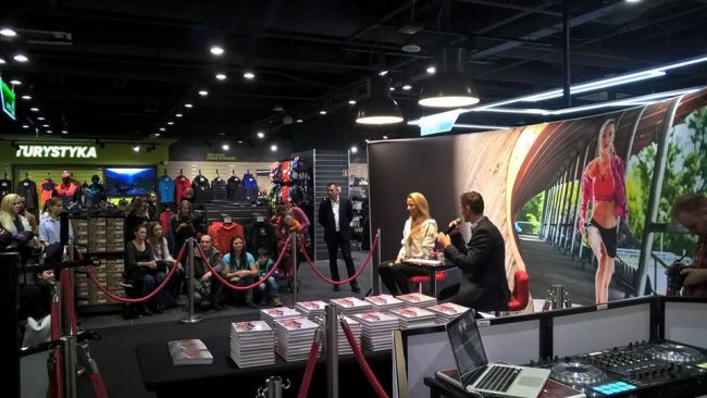 Spotkanie z Ewą Chodakowską w Martes Sport Premium (fot. Martes Sport)