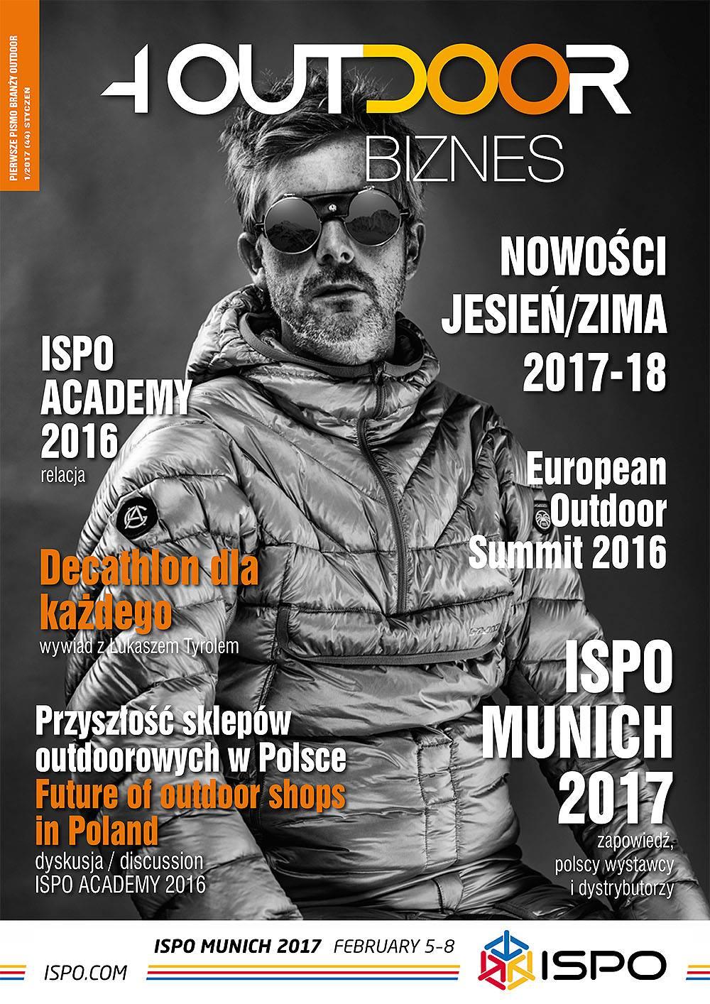 Ukazał się najnowszy Magazyn 4outdoor Biznes – edycja na ISPO MUNICH 2017