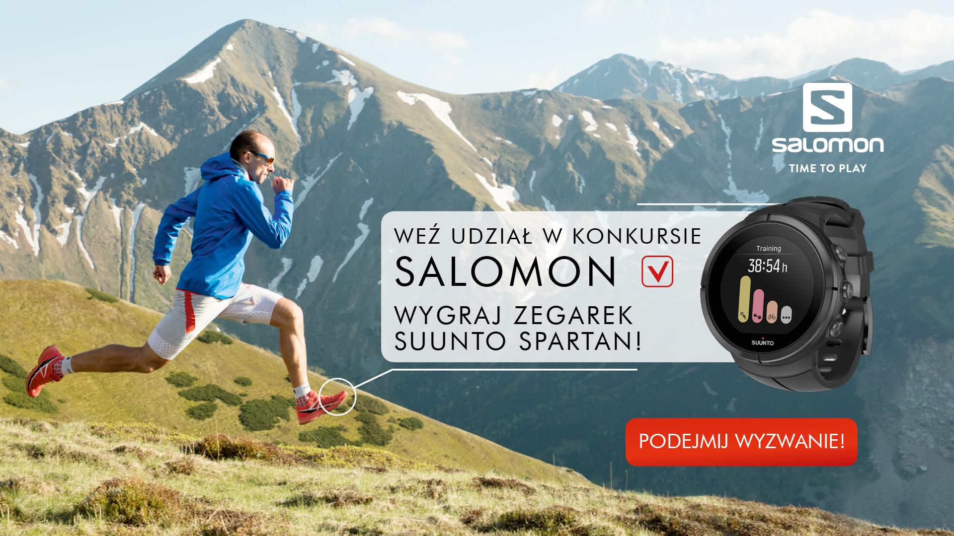 """Salomon i Suunto proponują – konkurs """"Time to Play"""""""