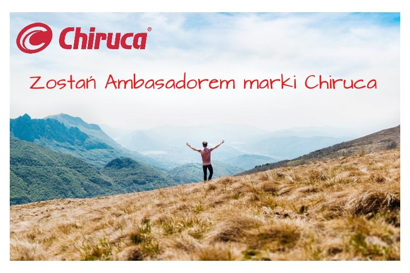 Zostań Ambasadorem marki Chiruca