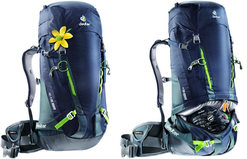 Deuter wprowadza nową linię plecaków wspinaczkowych Gravity