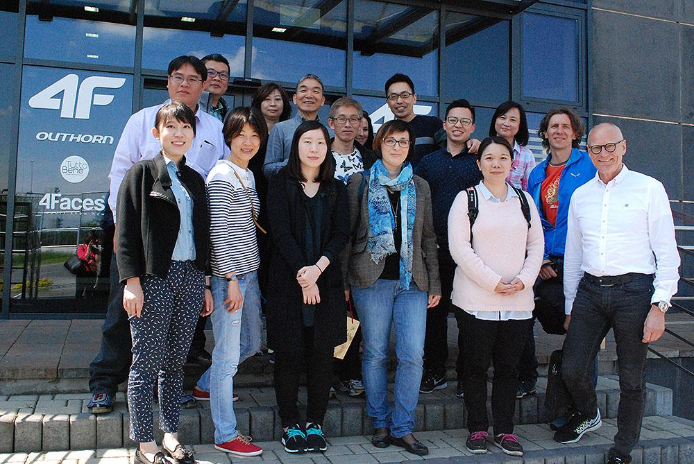 Wizyta Taiwan Textile Federation – maj 2016