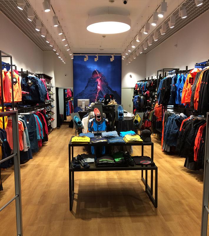 Nowy sklep firmowy marki Mammut w katowickiej Silesia City Center