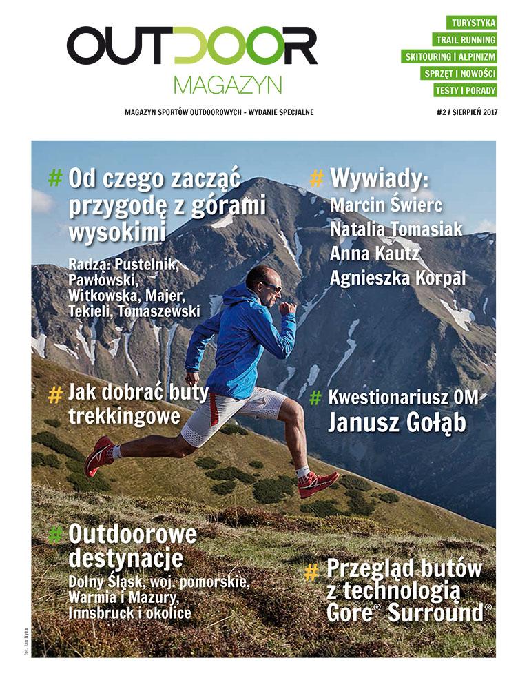 """""""Warto walczyć o marzenia"""" – drugi numer Outdoor Magazynu dostępny w wersji pdf!"""