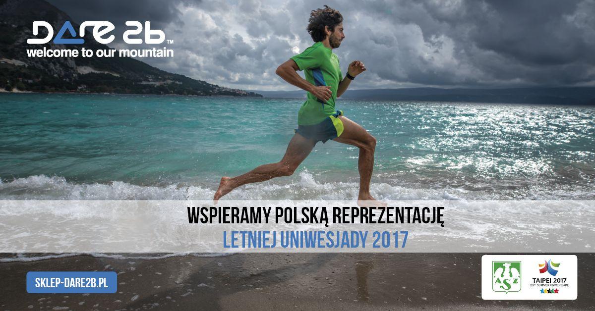 Marka Dare2b wspiera polską reprezentację na Letniej Uniwersjadzie
