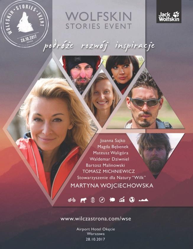 Wolfskin Stories Event – Martyna Wojciechowska i Jack Wolfskin zapraszają pasjonatów podróży