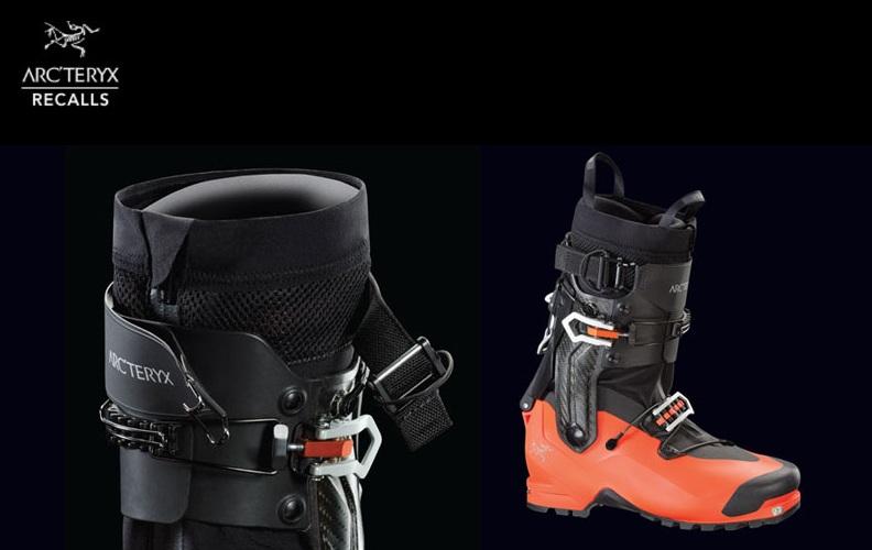 Arc'teryx wzywa do wycofania z użytkowania butów z serii Procline