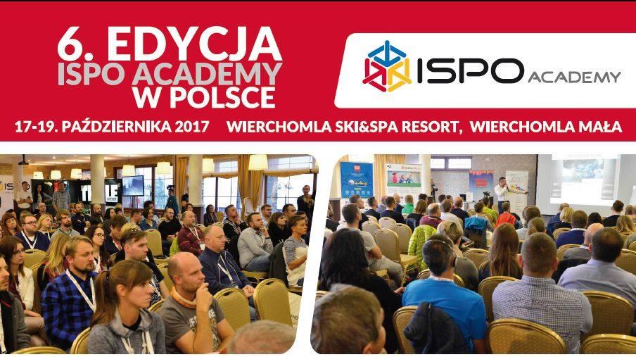 W październiku odbędzie się 6. edycja ISPO ACADEMY w Polsce