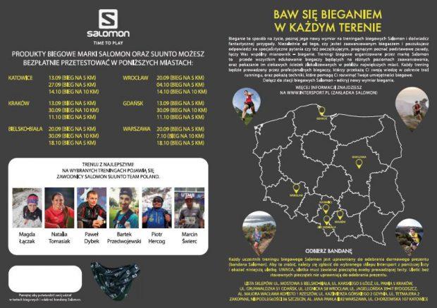 Salomon oraz Intersport zapraszają na warsztaty: Jak biegać w terenie