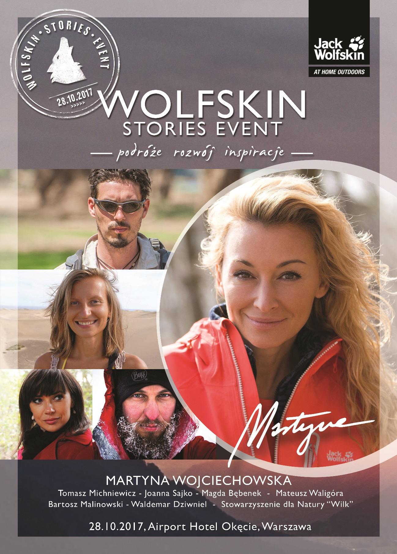 Już wkrótce Wolfskin Stories Event