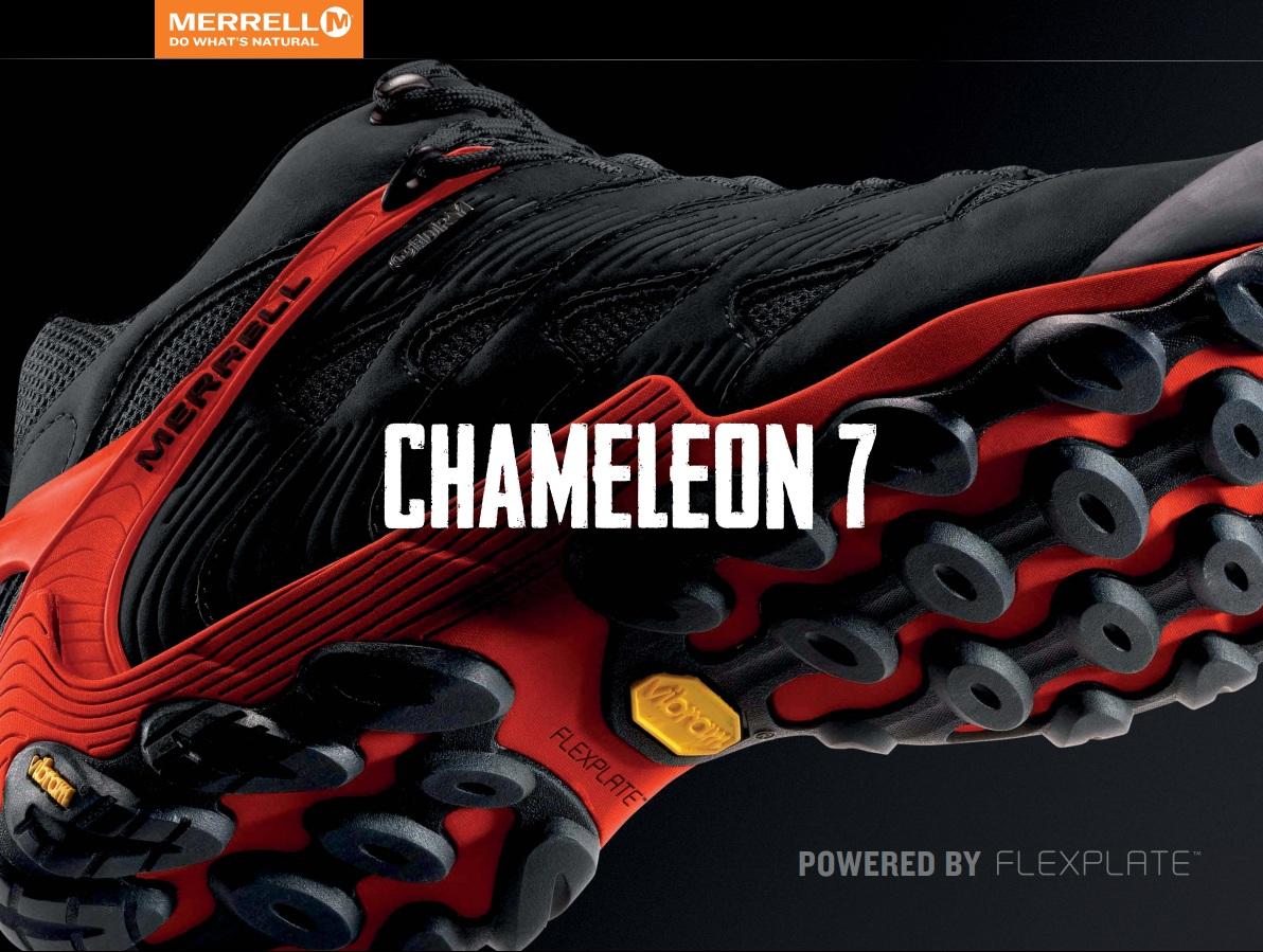 Merrell przedstawia nową odsłonę kultowej serii butów Chameleon