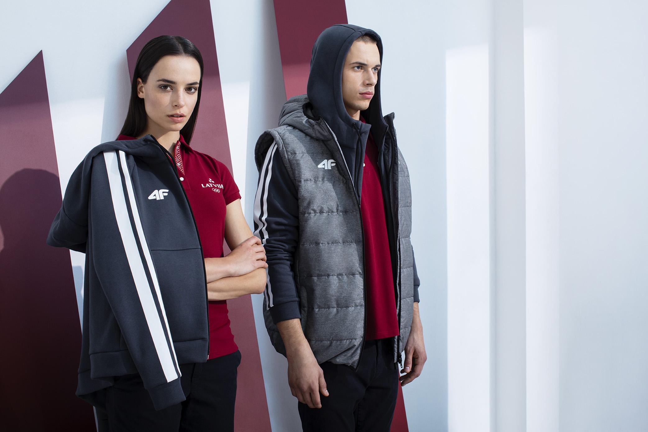 Premiera kolekcji 4F dla Łotewskiej Reprezentacji Olimpijskiej – PyeongChang 2018