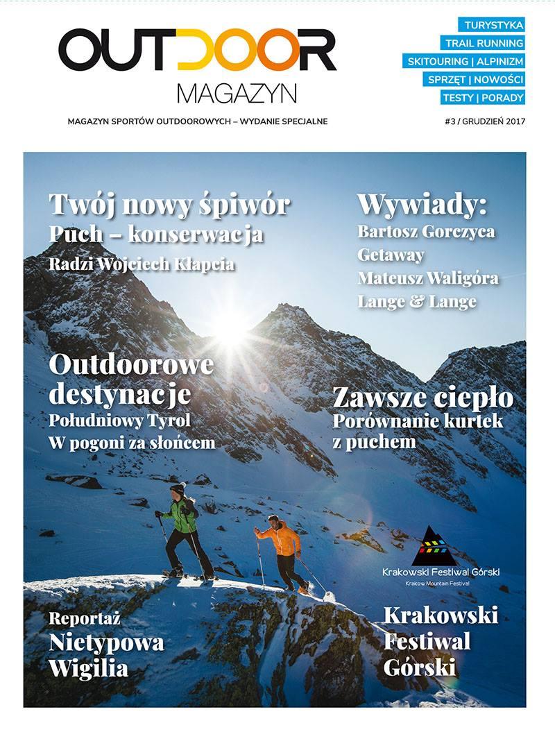 Już jest trzeci numer Outdoor Magazynu! Tym razem o zimowych przyjemnościach