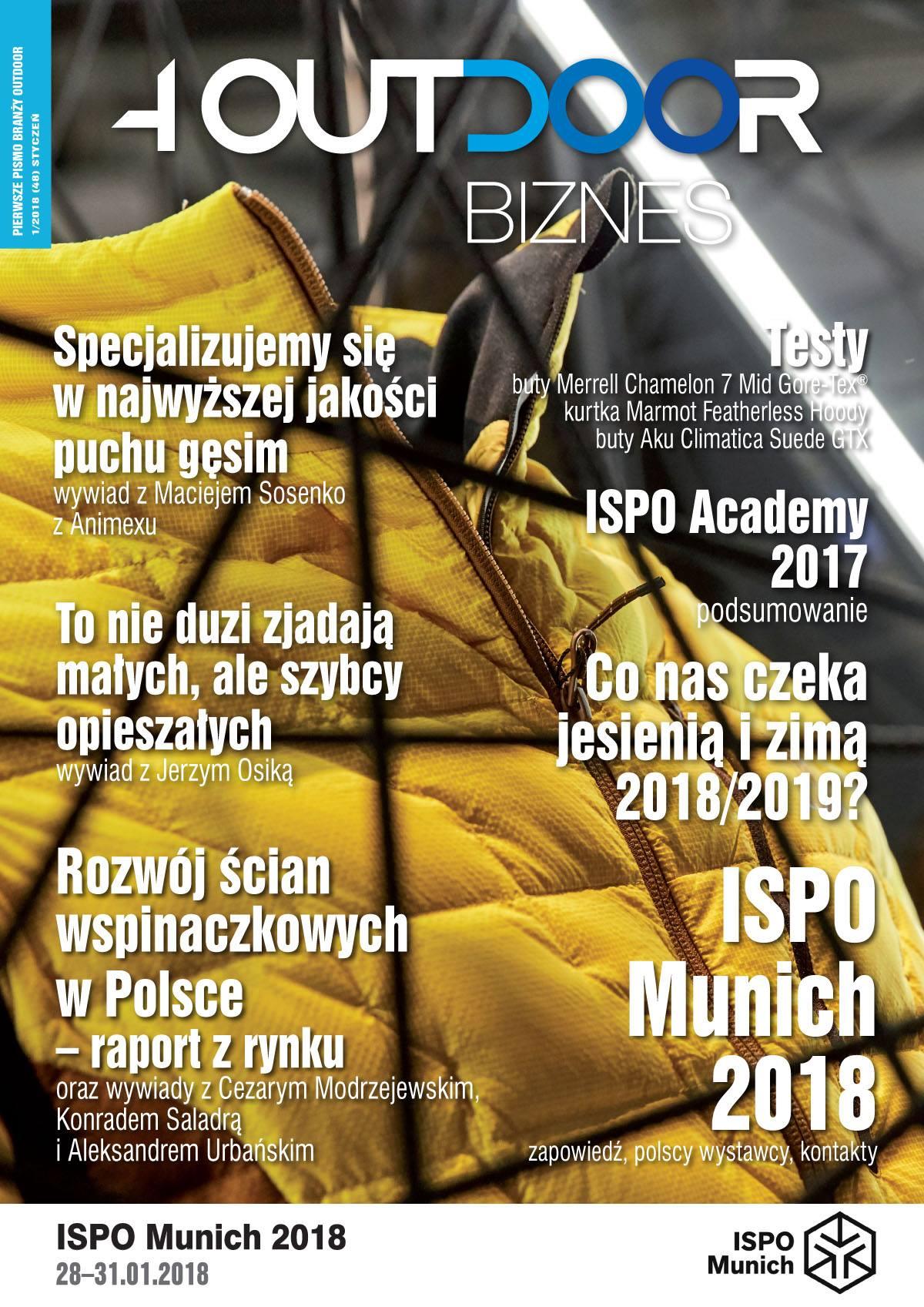 Już jest najnowszy Magazyn 4outdoor Biznes – edycja na ISPO Munich 2018