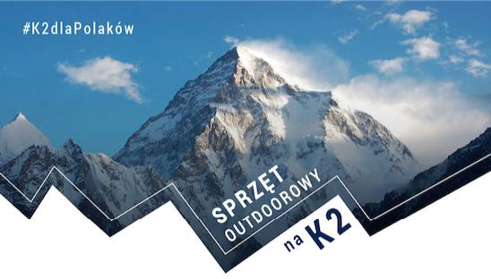 Paker dostarczył sprzęt na zimową wyprawę na K2