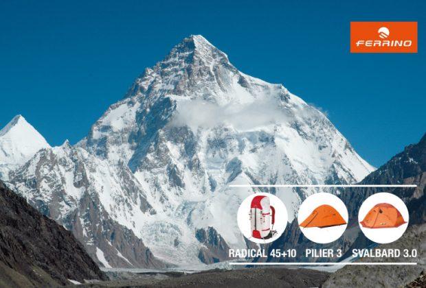 Sprzęt marki Ferrino wspiera wyprawę na K2