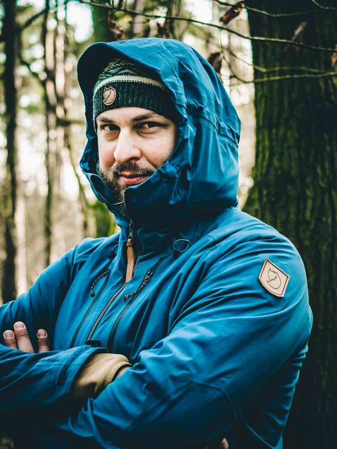 Mateusz Waligóra ambasadorem marek Fjällräven i Primus