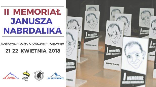II edycja Memoriału Janusza Nabrdalika już w kwietniu
