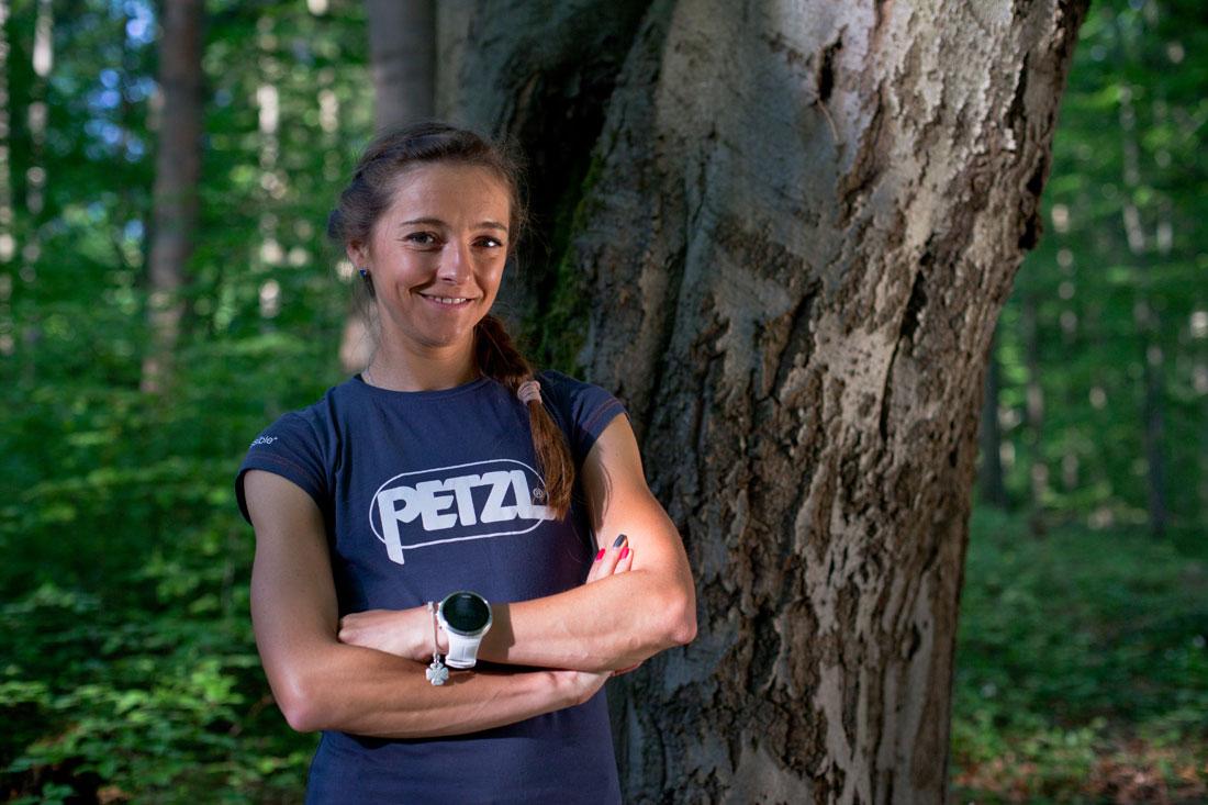 Natalia Tomasiak w Team Petzl Polska