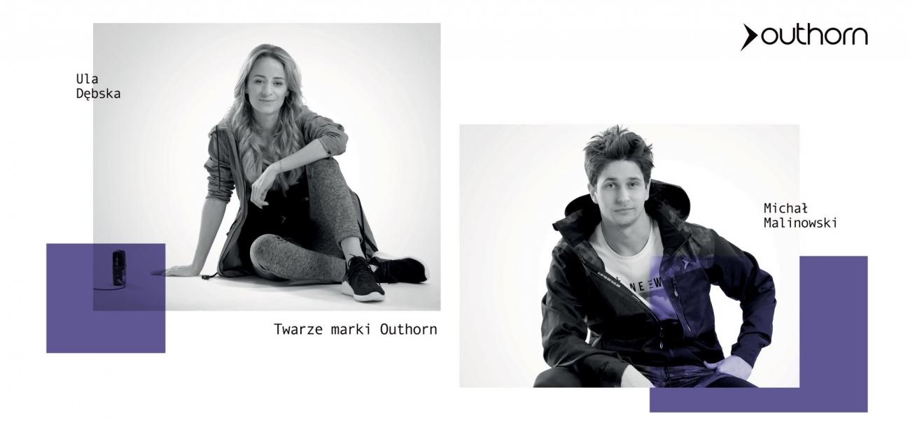 Aktywni i modni cały czas – nowe twarze marki Outhorn