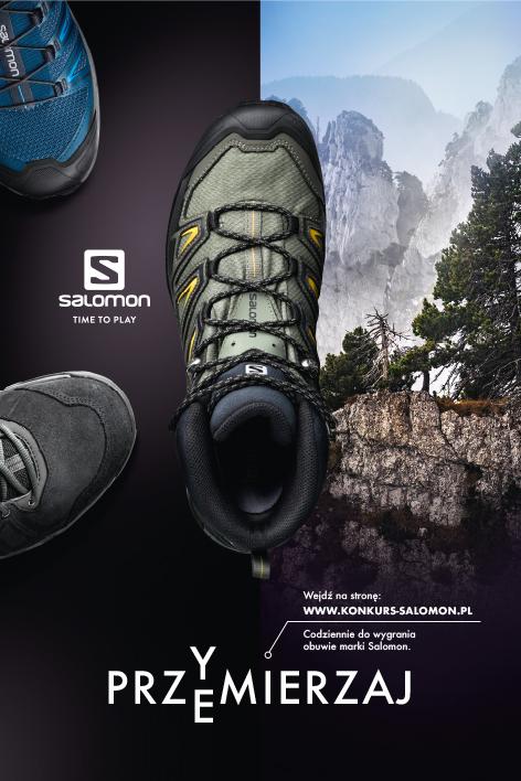 Przymierzaj Przemierzaj – konkurs marki Salomon – Outdoor